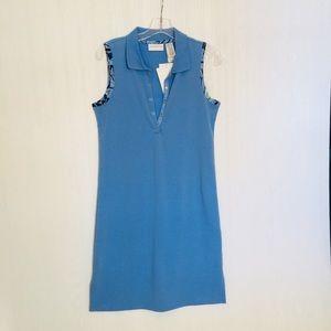 NWT Liz Claiborne blue summer tank dress
